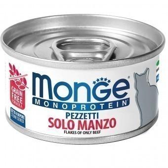 Консервы для кошек Monge Monoprotein - Solo Manzo (80 г)