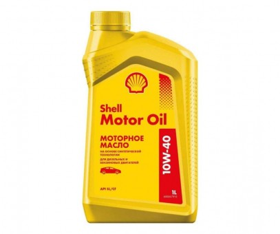 Масло моторное Shell Motor Oil 10W40 (1 л)