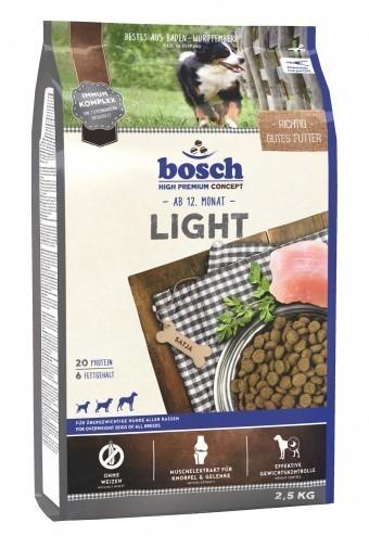 Сухой корм для собак Bosch Light, 2,5 кг