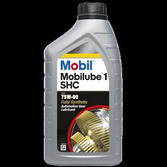 Масло трансмиссионное Mobil Mobilube 1 SHC 75W90 (1 л)