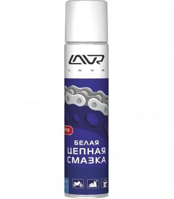 Lavr Ln1741 Белая цепная смазка с PTFE (400 мл)