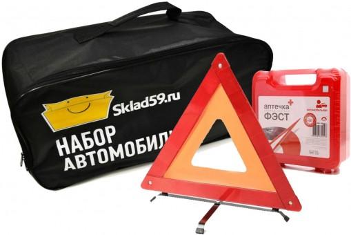 Наборы автомобильные (огнетушители, аптечки, знаки и пр.)