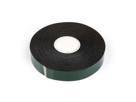 Скотч двусторонний вспененный 2 м x 6 мм (черный)