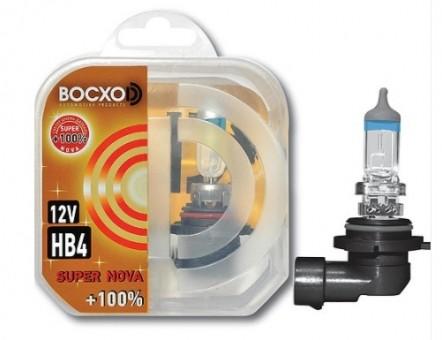 Автолампа BOCXOD HB4 Super Nova (51W, 12V, 80904 SN, +100%)