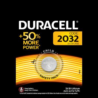 Батарейка CR2032 Duracell Electronics (1 шт.)