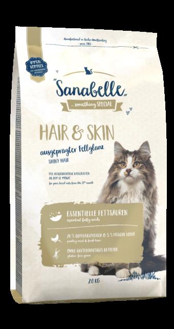 Сухой корм для кошек Sanabelle Hair&Skin, 2 кг