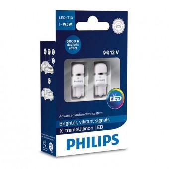 Светодиодные лампы Philips W5W X-tremeUltinon LED (6000K, 2 шт)
