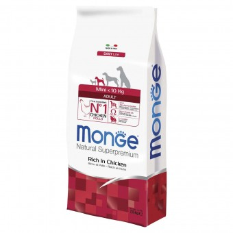 Сухой корм для собак Monge Daily Line - Mini Adult (7,5 кг)