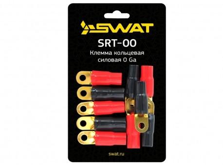 Клемма Swat SRT-00 кольцевая 0Ga (5 красных + 5 черных)