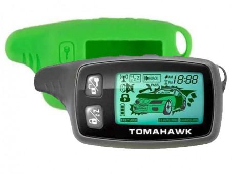 Чехол силиконовый Tomahawk TW-9010/9020/9030 (зеленый)