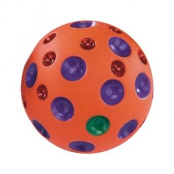 Игрушка Nobby Мяч рельефный (оранжевый, диаметр 7,5 см)