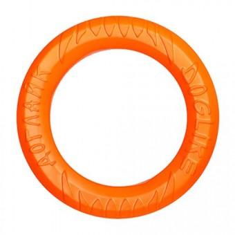 Игрушка DogLike Кольцо восьмигранное (оранжевое, диаметр 30,5 см)
