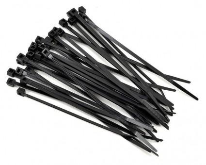 Стяжки нейлоновые IEK 4,8х350 (черные, 50 шт)