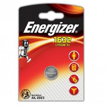 Батарейка CR1632 Energizer Lithium (блистер, 1 шт)