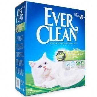 Наполнитель кошачьего туалета Ever Clean Extra Strong Clumping (глиняный, 10,0 кг, 10 л, свежесть)