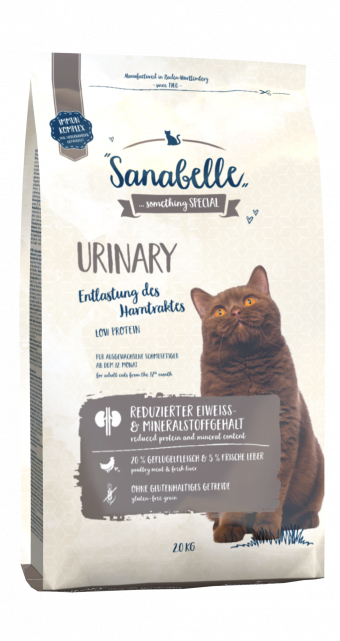 Сухой корм для кошек Sanabelle Urinary NEW,  2 кг