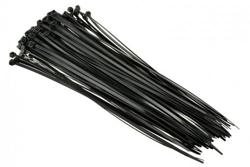 Стяжки нейлоновые Вихрь 3,6х200 (черные 100 шт)