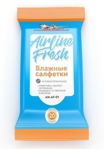 Салфетки влажные AirLine антибактериальные (20 шт)
