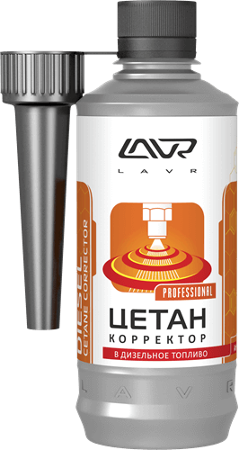 Lavr Ln2112 Цетан Плюс корректор (присадка в дизельное топливо, 310 мл)
