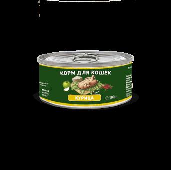 Консервы для кошек Solid Natura Holistic, курица (100 г)