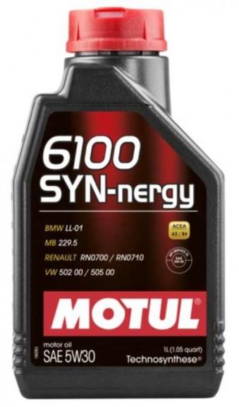 Масло моторное Motul 6100 SYN-nergy 5W30 (1 л)
