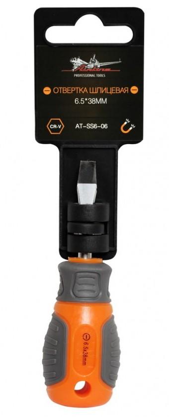 Отвертка шлицевая AirLine SL6, 38 мм