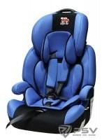 Автокресло детское 9-36кг. Little Car Brave Isofix синий