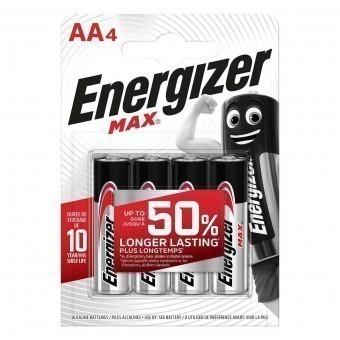 Батарейки AA (LR06) Energizer Max (блистер, 4 шт)