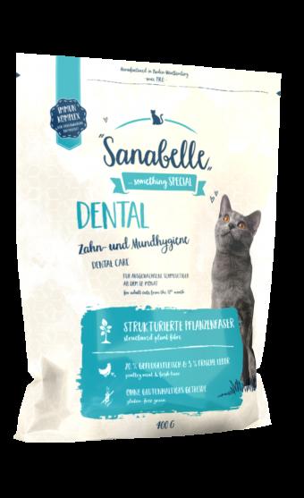 Сухой корм для кошек Sanabelle Dental NEW, 0,4 кг