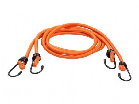 Стяжки-резинки AirLine 2 шт (2x120 см, метал. крючки)