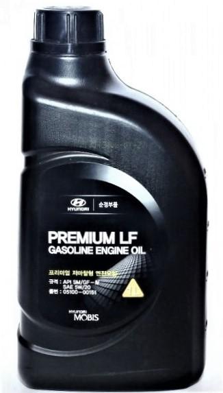 Масло моторное Hyundai Mobis Premium LF Gasoline 5W20 (1 л)