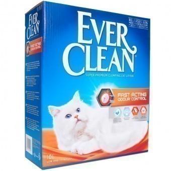 Наполнитель кошачьего туалета Ever Clean Fast Acting (глиняный, 10,0 кг, 10 л, свежесть)