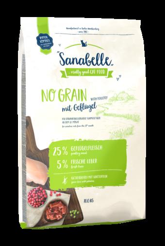 Сухой корм для кошек Sanabelle No Grain NEW, 10 кг