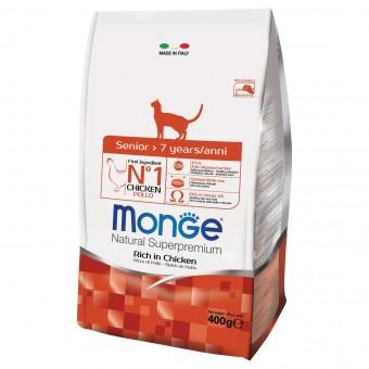 Сухой корм для кошек Monge Daily Line - Senior (400 г)