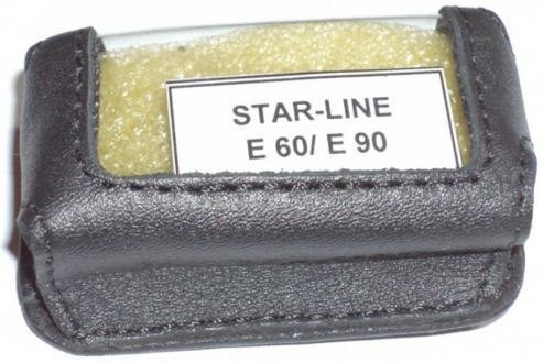 Чехол Старлайн E60/E90 (черный, кобура)