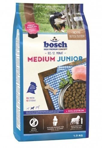 Сухой корм для собак Bosch Medium Junior, 1 кг