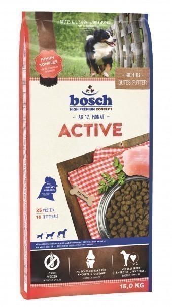 Сухой корм для собак Bosch Active, 15 кг
