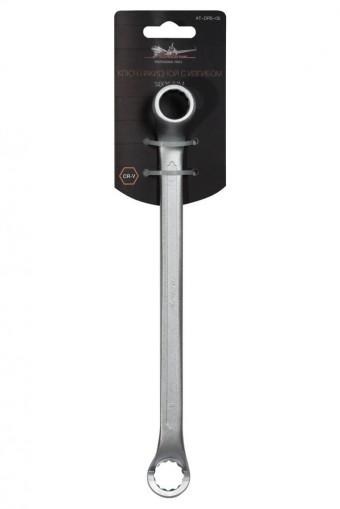 Ключ накидной AirLine с изгибом, 14-15 мм