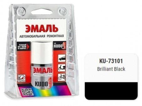 Краска-кисточка KUDO KU-73101 (Mazda, Brilliant Black)