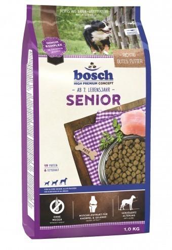 Сухой корм для собак Bosch Senior, 1 кг