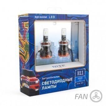 Светодиодные лампы MTF Night Assistant Fan H11 (4500K)
