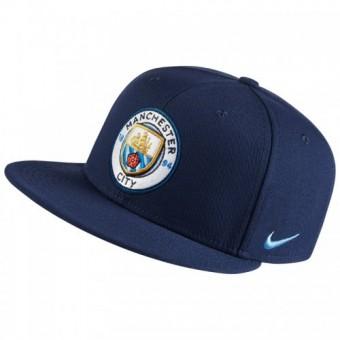 Бейсболка ФК Манчестер Сити Nike 2016-17 т.-синяя, арт.15803