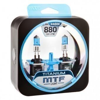 Лампы MTF Titanium H27 880 (12 V, 27 W, 2 шт)