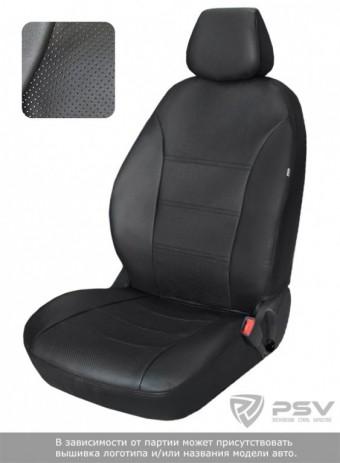 Чехлы  Lada Xray 15-> черный аригон БРК