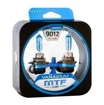 Лампы MTF Vanadium HIR2 9012 (12 V, 55 W, 2 шт)