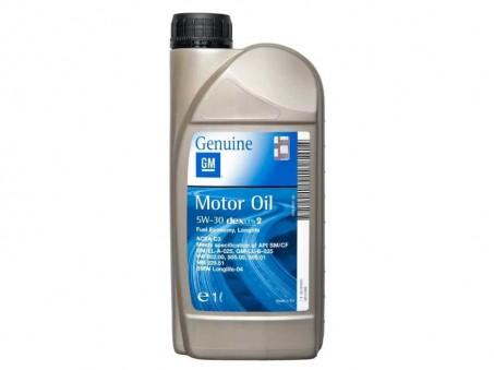 Масло моторное GM Dexos2 5W30 (1 л)