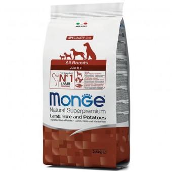Сухой корм для собак Monge Specialty Line - Adult Lamb (2,5 кг)