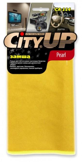 Салфетка CityUp CA-114 Pearl (синтетическая замша)