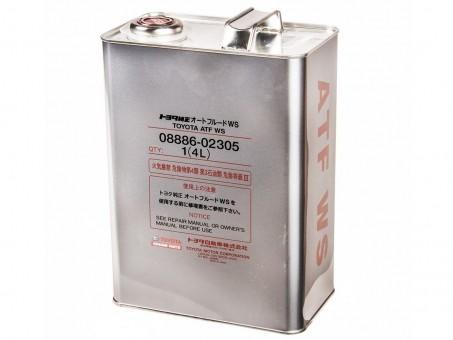 Масло трансмиссионное для АКПП Toyota ATF-WS (4 л)