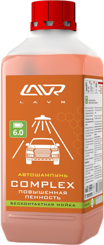 Lavr Ln2321 Автошампунь для бесконтактной мойки Complex (1 л)